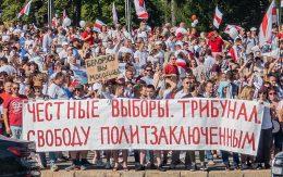 2020 Belarusian protests by Homoatrox