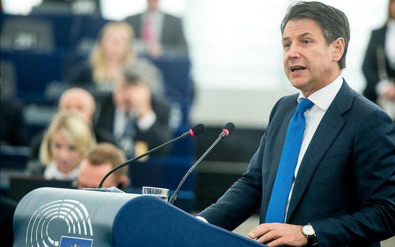 Giuseppe Conte at the EP