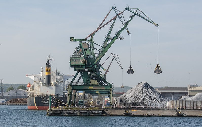 Poland Coal Industry, Gdynia Habour