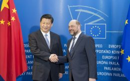 Xi Jinping at the EP, 2014
