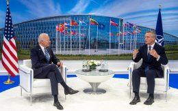 NATO meeting with Biden