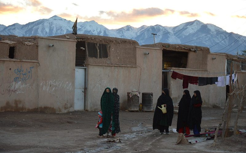 Afghan refugees in Iran