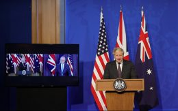AUKUS Partnership - Prime Minister Boris Johnson